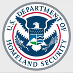 Supply chain and security, homeland security seal